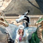 The Faerie Queen and her dragons